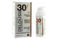 Sja Pharm Delousil Silky Face Sunscreen color SPF30 Αντηλιακή κρέμα προσώπου Με Χρώμα, 50ml