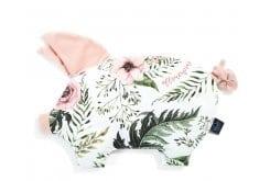 La Millou Sleepy Pig Wild Blossom Powder Pink Βρεφικό Μαξιλάρι Γουρουνάκι 35cm x 40cm, 1 τεμάχιο