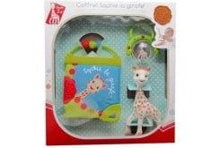 Sophie la Girafe Birth Gift Set 516325 Σόφι η καμηλοπάρδαλη, κουδουνίστρα, 1 τεμάχιο & όμορφο βιβλίο με τη Σόφι, 1 τεμάχιο