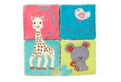 SOPHIE LA GIRAFE early learning  fabric cubes 230763