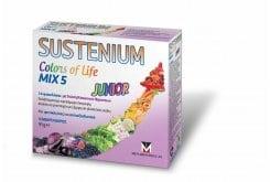 Sustenium Colors of Life ΜΙΧ 5 Junior Πολυβιταμίνη για Παιδιά, με γεύση κόκκινων φρούτων, 14 sachets