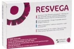 Thea Pharma Resvega Nutritional Supplement to Preserve Normal Vision, 60 caps