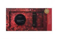 Korres Timeless Beauty The Red Passion Lip Set με Festive Glow Minerals Πούδρα & Morello 54 Κλασσικό Κόκκινο Κραγιόν