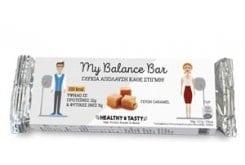 Power Health My Balance Bar Crunchy Caramel Γλυκιά Πρωτεϊνική Μπάρα, με γεύση Καραμέλας, 35gr