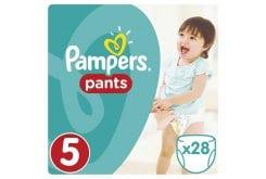 Pampers Pants Value Pack No.5 (Junior) 12-18 kg Βρεφικές Πάνες Βρακάκι, 28 τεμάχια