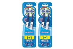 2 x OralB Complete Clean 5 Way 40 (2+2) Medium Οδοντόβουρτσα, 4 τεμάχια