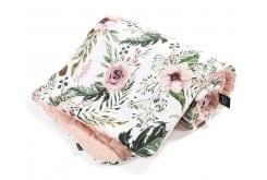 La Millou Powder Pink Wild Blossom Παπλωματάκι 100 x 80cm, 1 τεμάχιο