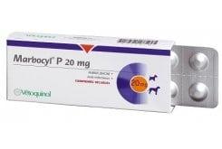 Vetoquinol Marbocyl P 20mg Δισκία για τη Θεραπεία Λοιμώξεων των Σκύλων, 10 δικία
