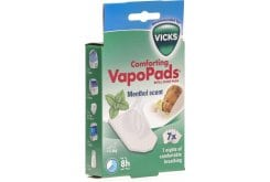 Vicks Comforting Vapo Pads Ανταλλακτικές Ταμπλέτες (VH7) με άρωμα Μέντας, 7 ταμπλέτες