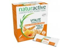 Naturactive Vitalite Συμπλήρωμα Διατροφής με Τζίνσενγκ, Βασιλικό Πολτό & Πρόπολη για Τόνωση του Οργανισμού, 15 φακελλίσκοι
