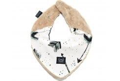 La Millou Royal Arrows Latte Warm Neck Βρεφικό Κασκόλ, 1 τεμάχιο