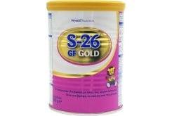 Wyeth S26 GF Gold Βρεφικό Γάλα από τη Γέννηση για Ισορροπημένη Διατροφή όταν δε πραγματοποιείται Θηλασμός, 400 gr