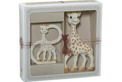 Sophie la Girafe Sophisticated Classical Creation Composition 1 S000001 Σετ Δώρου με τη Σόφι την καμηλοπάρδαλη, 1 τεμάχιο & δακτύλιο οδοντοφυϊας, 1 τεμάχιο