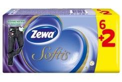 Zewa Softis Classic Χαρτομάντημα Τσέπης, 6+2 τεμάχια