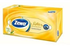 Zewa Softis Soft & Sensitive Επιτραπέζια Χαρτομάντηλα Τετράφυλλα, 80 τεμάχια