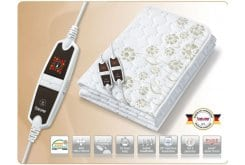 Beurer UB 66 XXL Διπλή Ηλεκτρική Υποκουβέρτα 150 x 140cm, 1 τεμάχιο & ΔΩΡΟ Beurer HM 16 Θερμόμετρο & Υγρόμετρο Δωματίου, 1 τεμάχιο