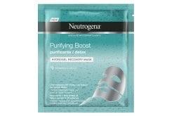 Neutrogena Purifying Boost The Detoxifier Hydrogel Μάσκα Αναδόμησης, 30ml