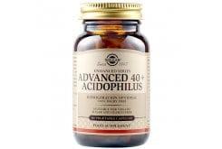 Solgar Advanced 40+ Acidophilus Φόρμουλα Προβιοτικών για Αποκατάσταση της Εντερικής Χλωρίδας για Ατόμων άνω των 40 Ετών, 60veg.caps
