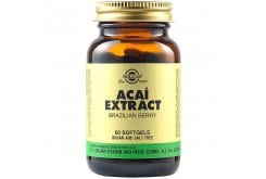 Solgar Acai Extract Εκχύλισμα Acai Berry,60caps