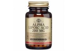 Solgar Alpha Lipoic Acid 200mg Συμπλήρωμα Διατροφής Άλφα Λιποϊκού Οξέως με Αντιοξειδωτική Δράση για Τόνωση του Οργανισμού - Δρα Θετικά στην Καλύτερη Αξιοποίηση της Γλυκόζης, 50veg.caps