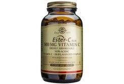 Solgar Ester C 500mg Συμπλήρωμα Διατροφής Βιταμίνη C για Ενίσχυση του Ανοσοποιητικού που Απορροφάται 4 Φορές Περισσότερο, 250 veg.caps