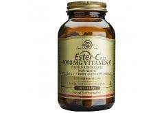 Solgar Ester C 1000mg Συμπλήρωμα Διατροφής Βιταμίνη C για Ενίσχυση του Ανοσοποιητικού που Απορροφάται 4 Φορές Περισσότερο, 90tabs