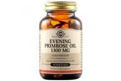 Solgar EveningPrimroseOil1300mg Συμπλήρωμα Διατροφής Ιδανικό για Γυναίκες για Αντιμετώπιση των Συμπτωμάτων κατά τις Περιόδους της Έμμηνου Ρύσης & της Εμμηνόπαυσης, 30softgels