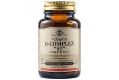 Solgar Formula B Complex 50 Σύμπλεγμα Βιταμινών Β για την Καλή Υγεία του Νευρικού & Ανοσοποιητικού Συστήματος - Ιδανικό για Άτομα με Υψηλά Επίπεδα Στρες & Αίσθημα Κόπωσης, 50veg.caps