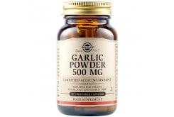 Solgar Garlic 500mg Συμπλήρωμα Διατροφής Σκόρδο Ιδανικό για Μείωση της Υψηλής Πίεσης - Αντιβακτηριακές, Αντιμυκητισιακές & Αντιβιοτικές Ιδιότητες, 90veg.caps
