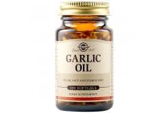 Solgar Garlic Oil Συμπλήρωμα Διατροφής με Αγνό Σκορδέλαιο για Μείωση της Υψηλής Πίεσης - Ενίσχυση Άμυνας Ενάντια σε Βακτήρια & Μύκητες, 100veg.caps