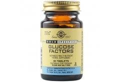 Solgar Glucose Factors Συμπλήρωμα Διατροφής για Ισορροπία των Επιπέδων Γλυκόζης στο Αίμα, 60tabs