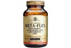 Solgar Meta Flex (Glucosamine – Hyaluronic Acid – Chondroitin – MSM) Συμπλήρωμα Διατροφής για Ενίσχυση Αρθρώσεων, Χόνδρων & Τενόντων - Ιδανικό για Οστεοαρθρίτιδα, 60tabs