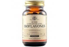 Solgar Isoflavones Συμπλήρωμα Διατροφής με Ισοφλαβόνες από Φυσική Σόγια - Ιδανικό για Γυναίκες σε Εμμηνόπαυση ή σε Περίοδο Προεμμηνοροϊκού Συνδρόμου, 60tabs