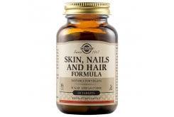 Solgar Skin, Nails & Hair Formula Φόρμουλα Πλούσια σε Βιταμίνες, Αμινοξέα & Μέταλλα για την Υγεία των Μαλλιών, του Δέρματος & των Νυχιών, 60tabs