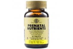 Solgar Prenatal Nutrients Πολυβιταμίνη για Γυναίκες Ιδανική κατά την Περίοδο της Εγκυμοσύνης & του Θηλασμού, 60tabs