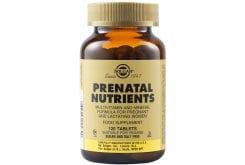 Solgar Prenatal Nutrients Πολυβιταμίνη για Γυναίκες Ιδανική κατά την Περίοδο της Εγκυμοσύνης & του Θηλασμού, 120tabs