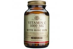 Solgar Vitamin C with Rose Hips 1000mg, 100tabs