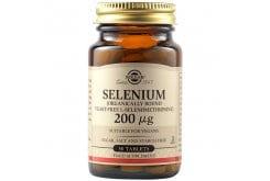 Solgar Selenium 200μg Συμπλήρωμα Διατροφής Σελήνιο Ιδανικό για Τόνωση Ανοσοποιητικού & Υπολειτουργία Θυροειδούς - Υγεία Μαλλιών & Νυχιών, 50tabs