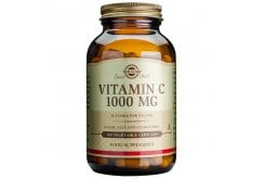 Solgar Vitamin C 1000mg Συμπλήρωμα Διατροφής Βιταμίνη C για Ενίσχυση Ανοσοποιητικού, Πρόληψη & Αντιμετώπιση Κρυολογήματος, 100 veg. caps