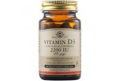 Solgar Vitamin D3 2200IU (55μg) Συμπλήρωμα Διατροφής Βιταμίνης D3 με Πολλαπλά Οφέλη για τον Οργανισμό, Ιδανικό για την Υγεία των Αρθρώσεων, 50veg.caps