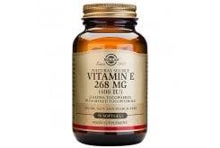 Solgar Vitamin E 400IU Συμπλήρωμα Διατροφής Βιταμίνη Ε με Ισχυρή Αντιοξειδωτική Δράση, Συμβάλλει στην Υγεία του Καρδιαγγειακού & Ανοσοποιητικού Συστήματος - Ιδανική για Όμορφο Δέρμα, 50softgels
