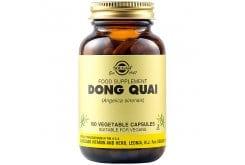 Solgar Dong Quai Συμπλήρωμα Διατροφής για Γυναίκες με Προεμμηνορυσιακή Ένταση,  Ανώμαλη Εμμηνορυσία & Συμπτώματα Εμμηνόπαυσης, 100veg.caps