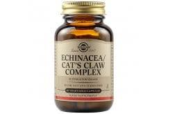 Solgar Echinacea / Goldenseal / Cat's Claw Complex Συμπλήρωμα Διατροφής που Ενισχύει το Ανοσοποιητικό Σύστημα & Συμβάλει στην Υγεία του Ευερέθιστου Εντέρου, 60veg.caps