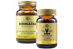 Solgar Πακέτο για Ενίσχυση Ανοσοποιητικού με Echinacea, 100veg.caps & Formula VM 2000 Πολυβιταμίνη, 60tabs