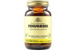 Solgar Fenugreek Συμπλήρωμα Διατροφής από το Βότανο Τριγωνέλλα για Μείωση Χοληστερίνης & Έλεγχο Επιπέδων Σακχάρου στο Αίμα, 100veg.caps