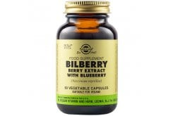 Solgar SFP Bilberry Berry Extract with Blueberry Extract, 60caps