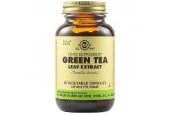 Solgar Green Tea Leaf Extract Συμπλήρωμα Διατροφής Πράσινο Τσάι για Έλεγχο του Βάρους
