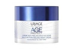 Uriage Eau Thermale Age Protect Multi-Action Peeling Night Cream Απολεπιστική Κρέμα Νυκτός Πολλαπλών Δράσεων, 50ml