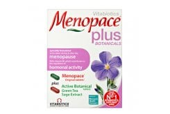 Vitabiotics Menopace Plus 28 tablets Menopace + 28 tablets Botanical