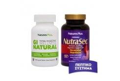 Πακέτο Προσφοράς Nature's Plus Gi Natural Φόρμουλα, 90 tabs & Nutrasec, 90 chewable tabs